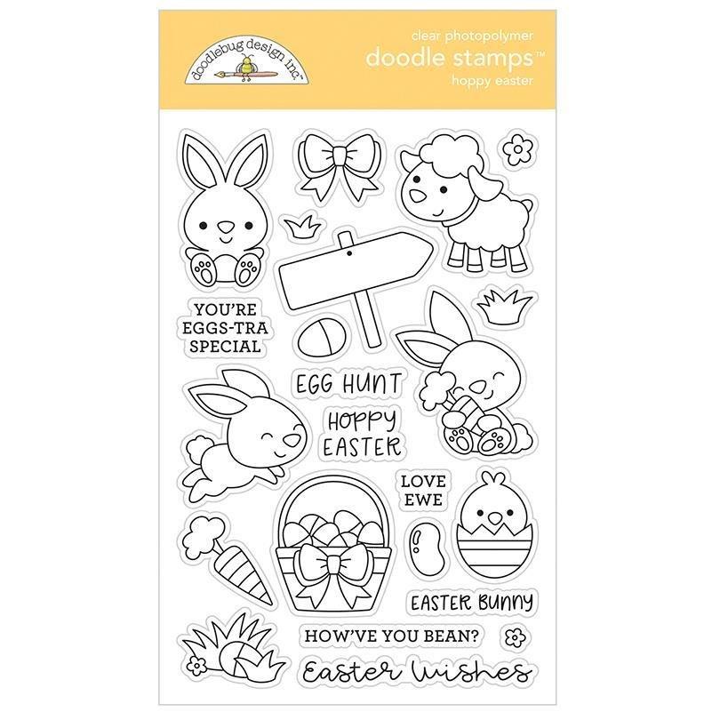 Doodle Stamp Hoppy Easter