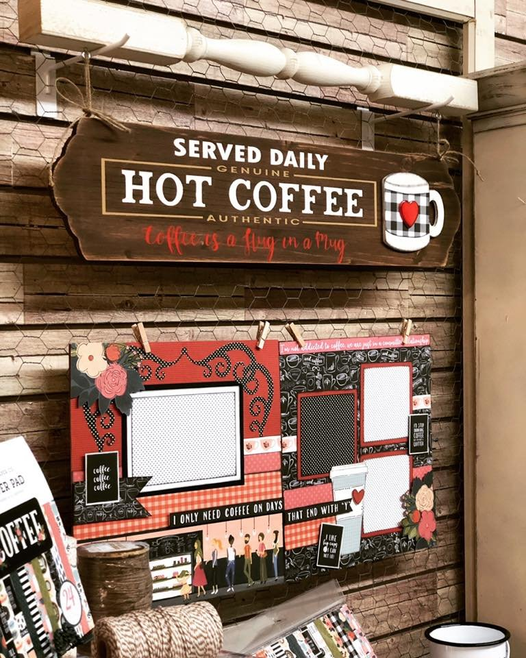 Hot Coffee Sign Kit