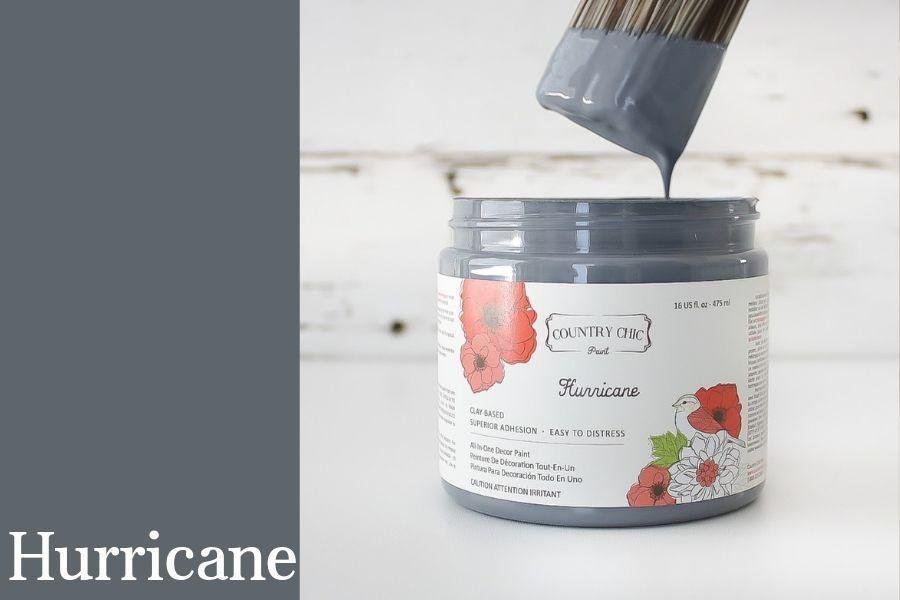 Country Chic Paint- All in One: Hurricane 4oz Paint