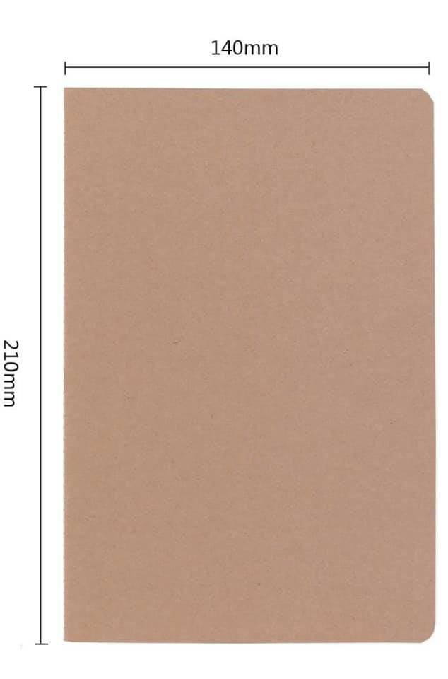Kraft Journal 5.5 x 8.25