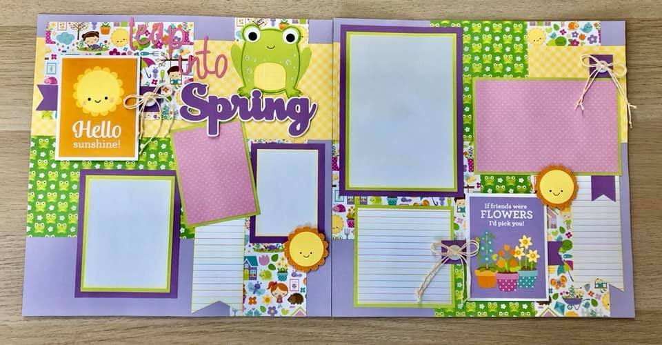 Layout Leap into Spring