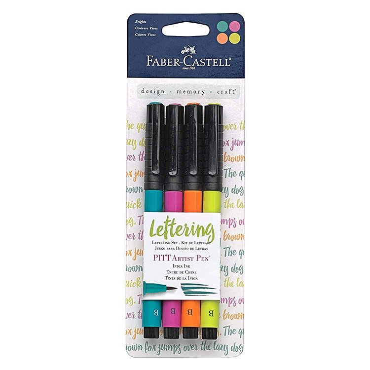 Faber Castell Lettering Brights Set