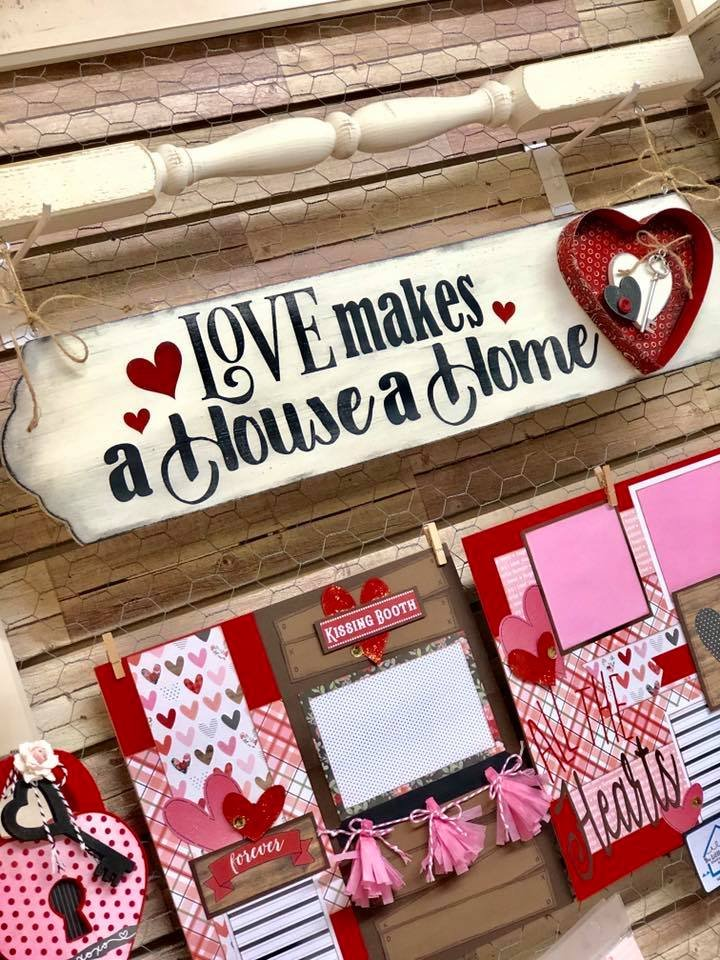 Love makes a House a Home Sign Kit