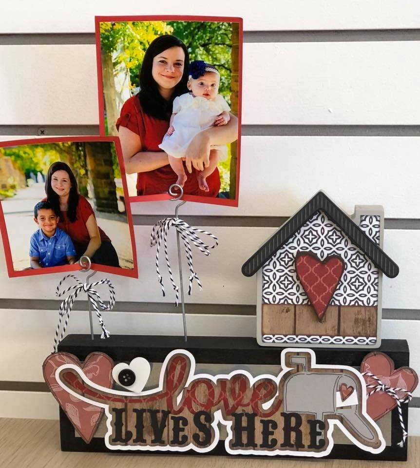 Photo Block Kit - Love Lives Here