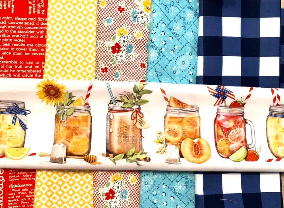Exclusive Fabrics for Fabric Fan Club Members - May