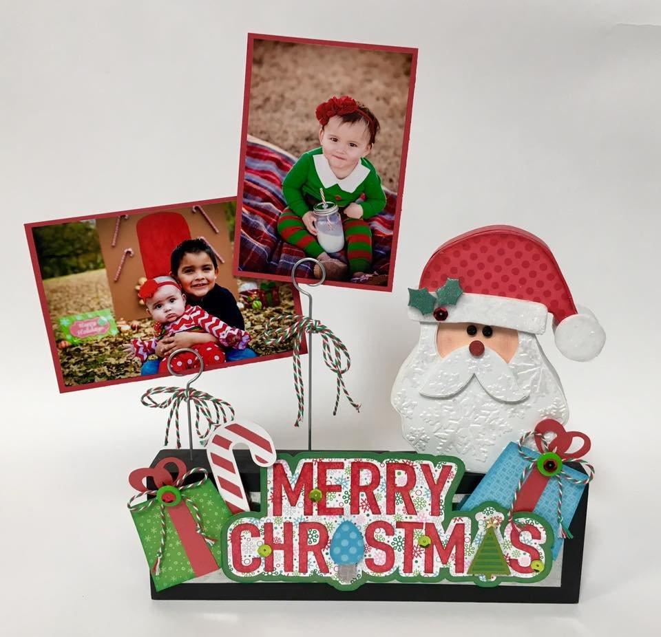Photo Block Kit - Santa