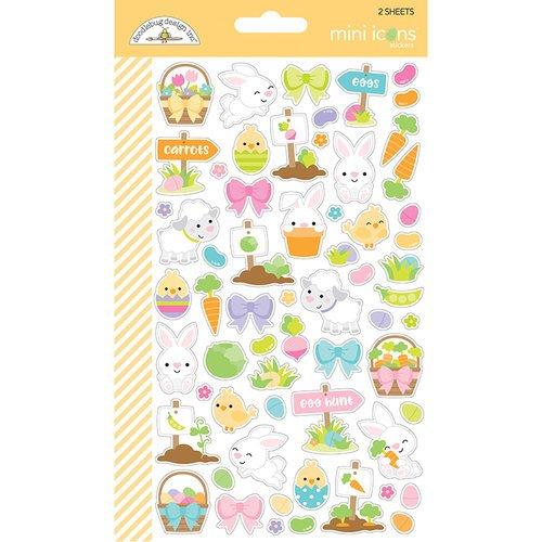 Doodlebug Hoppy Easter Mini Icon Stickers