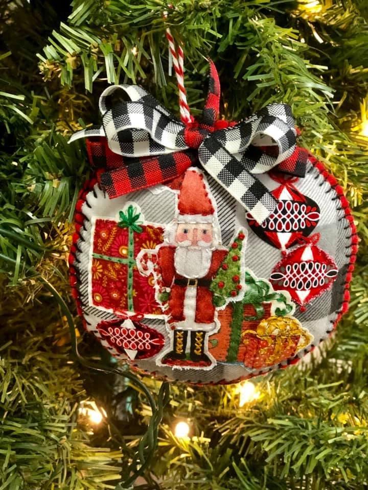 Nutcracker Collage Ornament Kit   (set of 2)