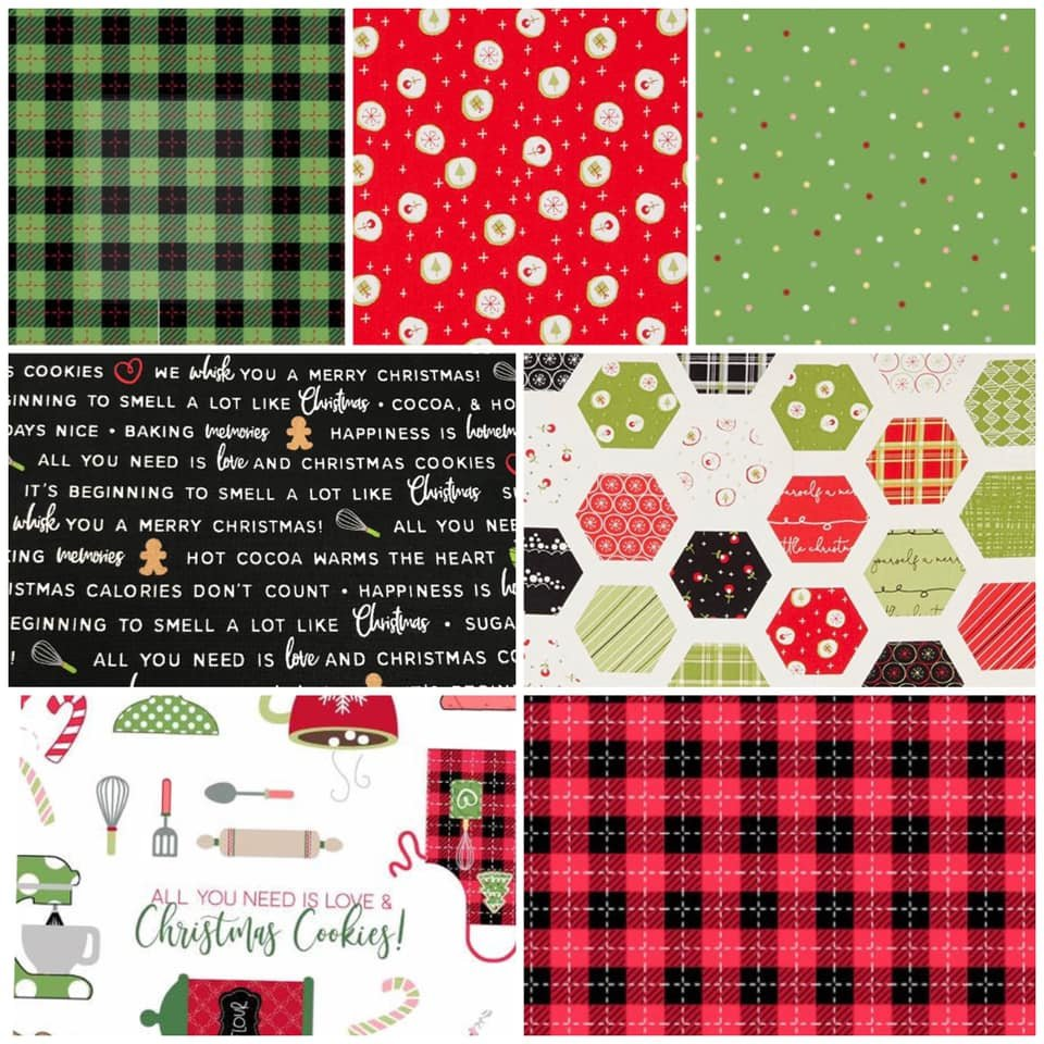 Exclusive Fabrics for Fabric Fan Club Members - October