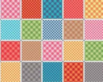 Exclusive Fabrics for Fabric Fan Club Members - August