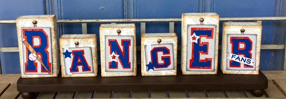 Spirit Tags Kit: Texas Rangers