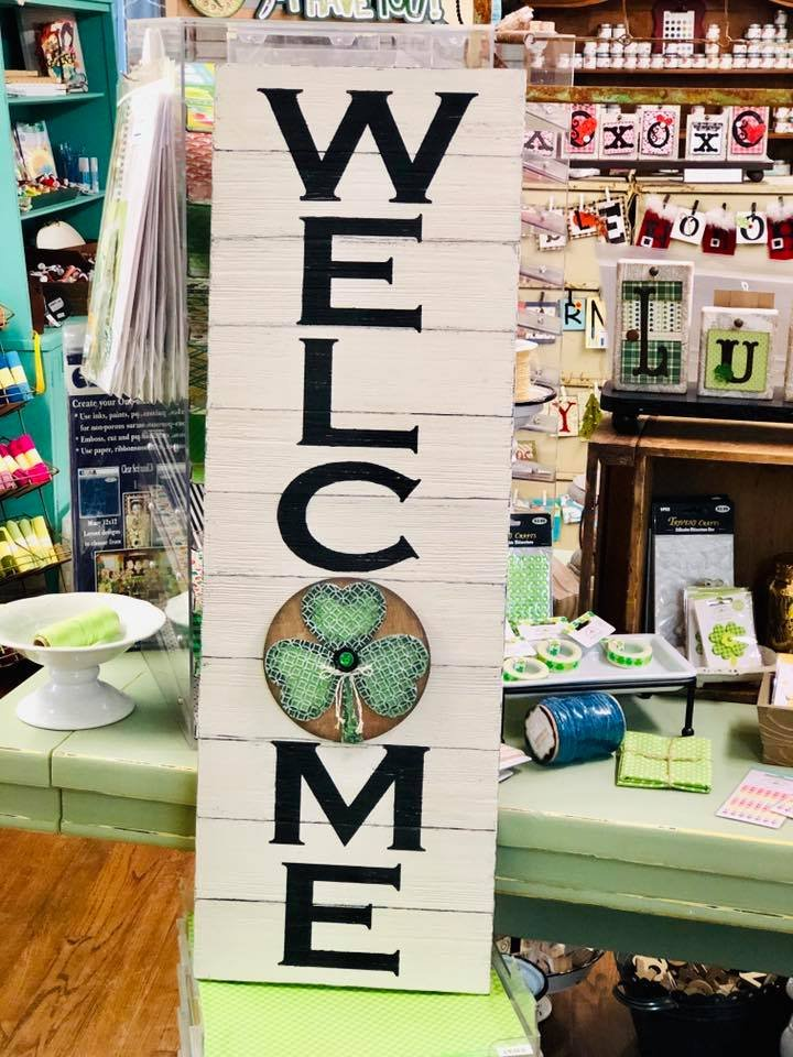 Add On Kit for Welcome Sign - Shamrock