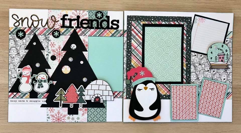 Layout Kit Snow Friends