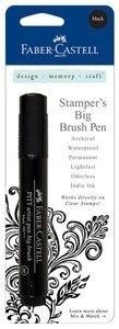 Faber Castell Stamper's Big Brush Pen - Black