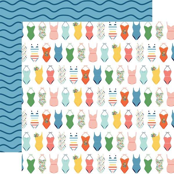 Echo Park Summertime Swimsuits 12x12 Paper