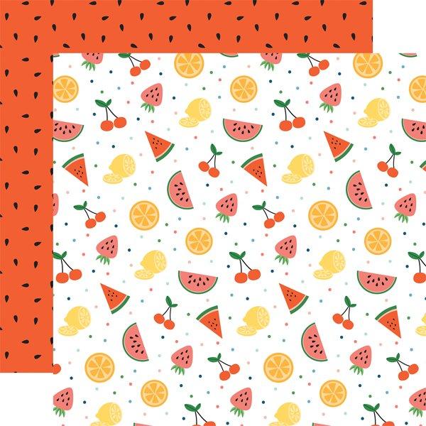 Echo Park Summertime Fruit 12x12 Paper