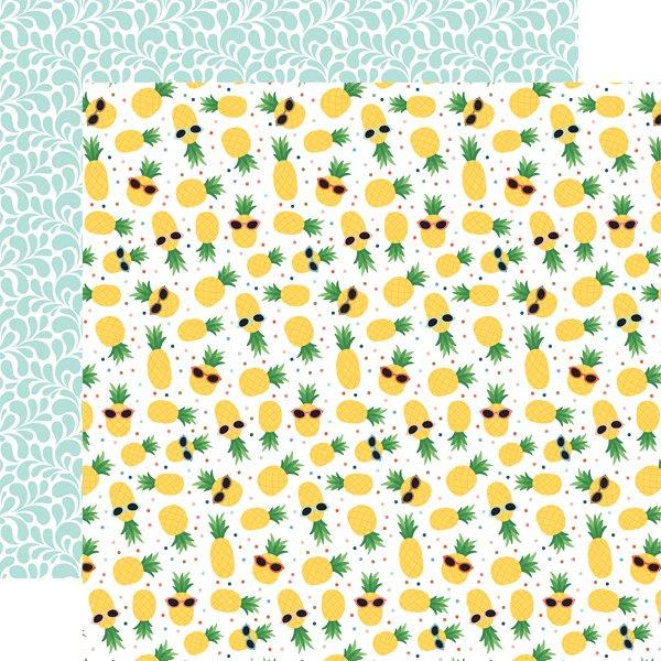 Echo Park Summertime Pineapple 12x12 Paper
