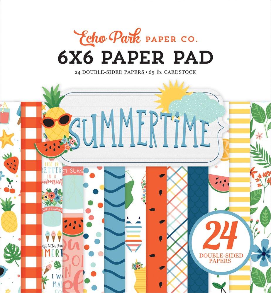 Echo Park Summertime 6X6 Paper Pad
