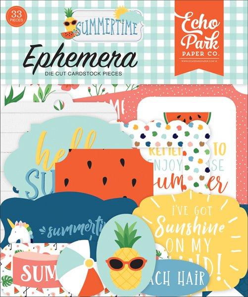 Echo Park Summertime Ephemera Pack