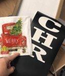Merry Christmas Vinyl Cut ONLY