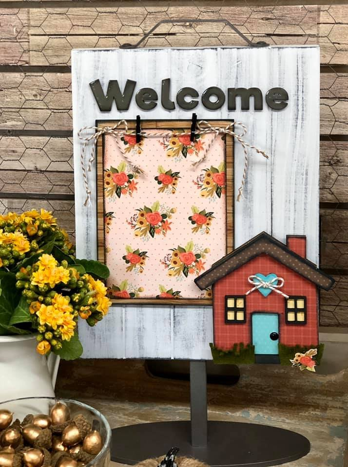 Welcome Home Kit for Welcome Photo Slat Sign