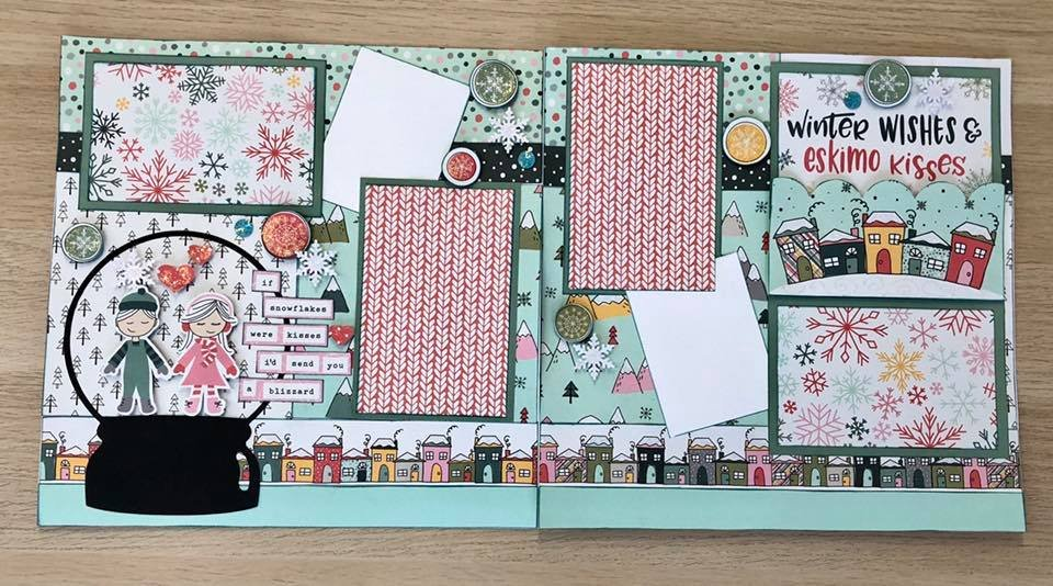 Layout Kit Winter Wishes