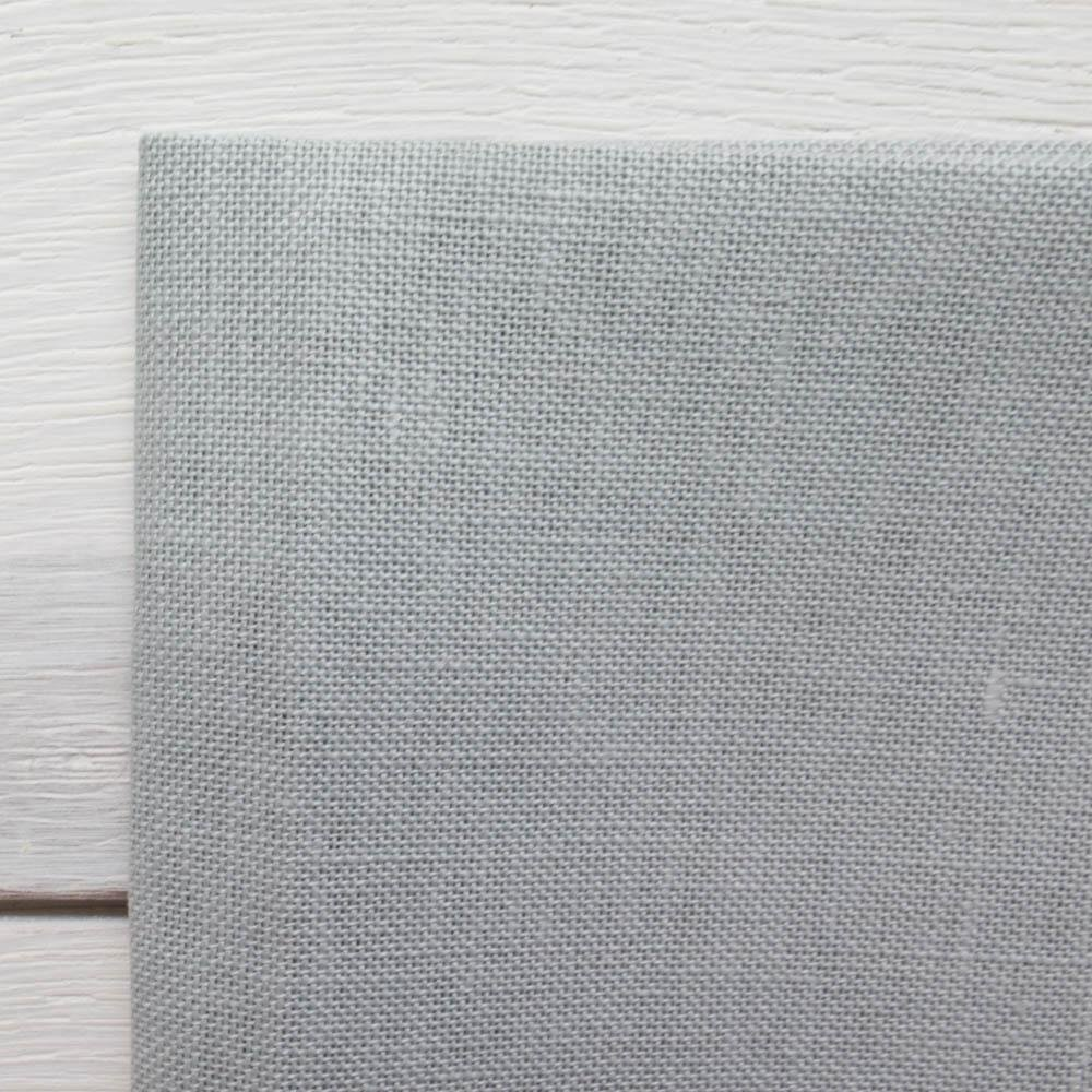 Confederate Gray 28 ct Cashel, Linen Fat Quarter