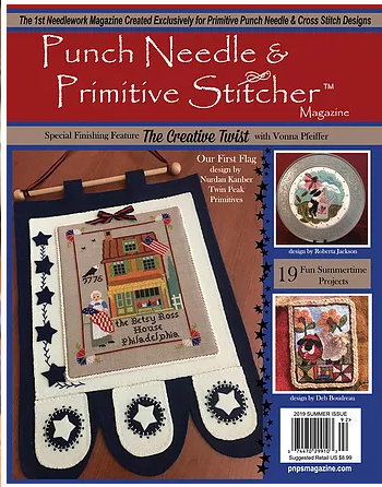 Punch Needle & Primitive Stitcher Summer 2019