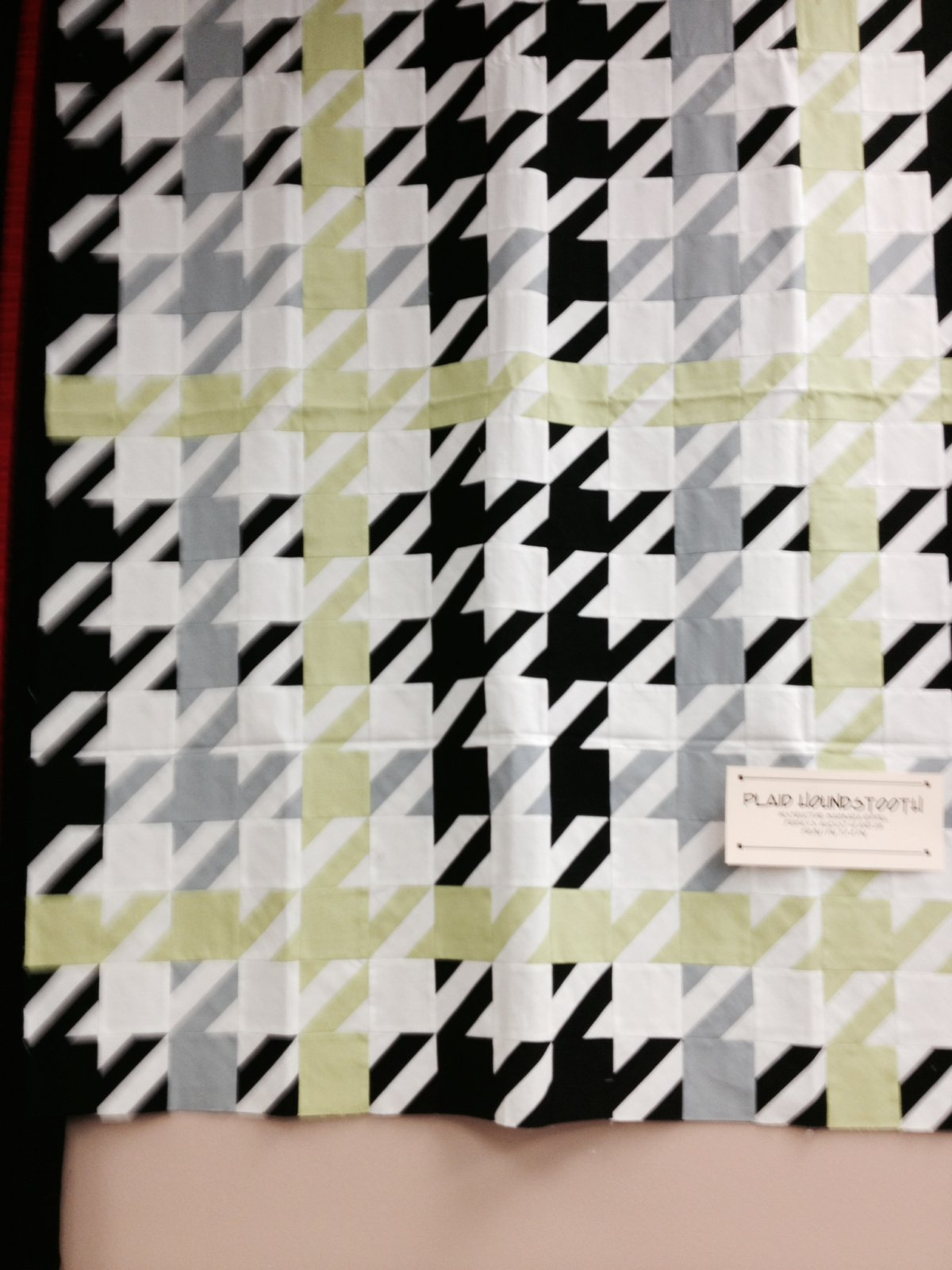 Plaid Houndstooth : houndstooth quilt pattern - Adamdwight.com