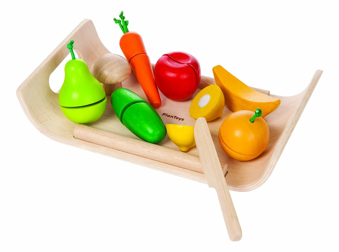 Plan Toys | Assorted Fruit & Vegetable
