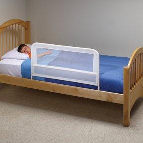 KidCo   White Mesh Children's Bed Rail