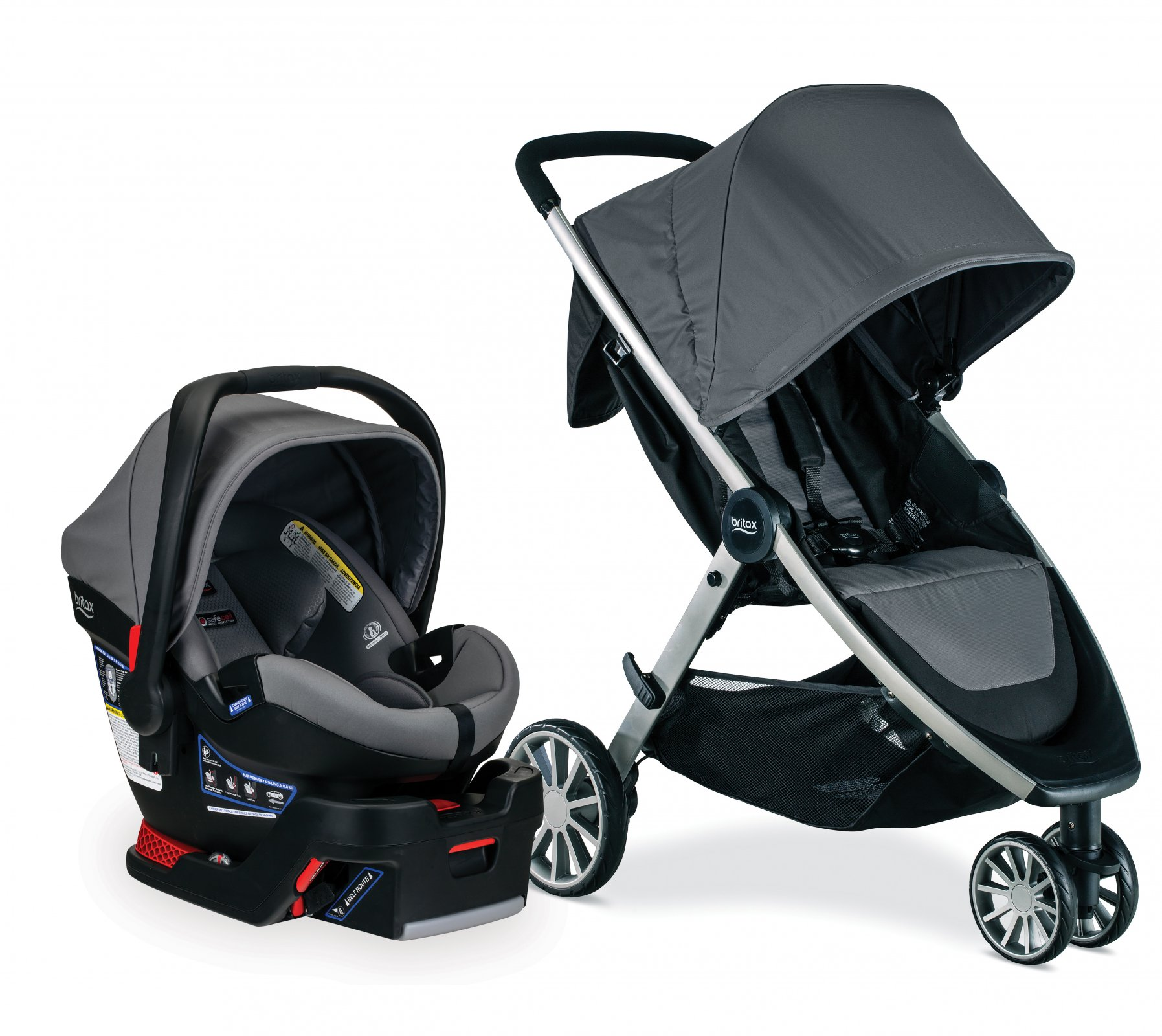 Britax | B-Lively Travel System with B-Safe 35 Ultra