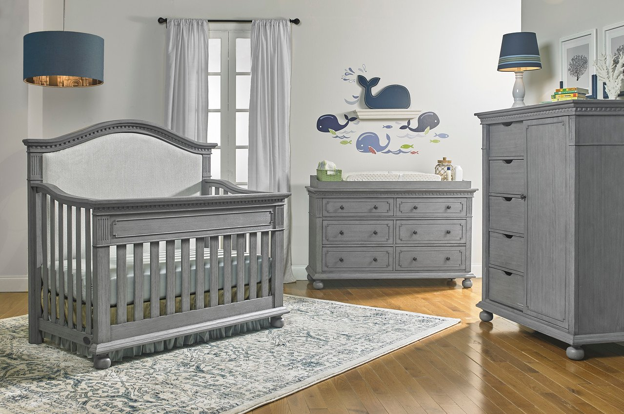 Dolce Babi | Naples | Upholstered Convertible Crib