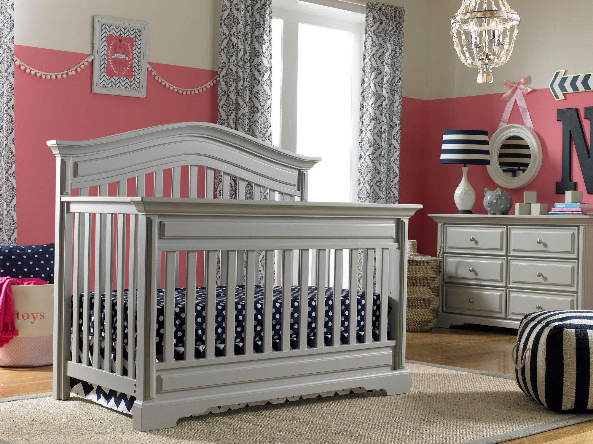 Dolce Babi | Venezia | 2pc Bundle (Crib & Double Dresser)