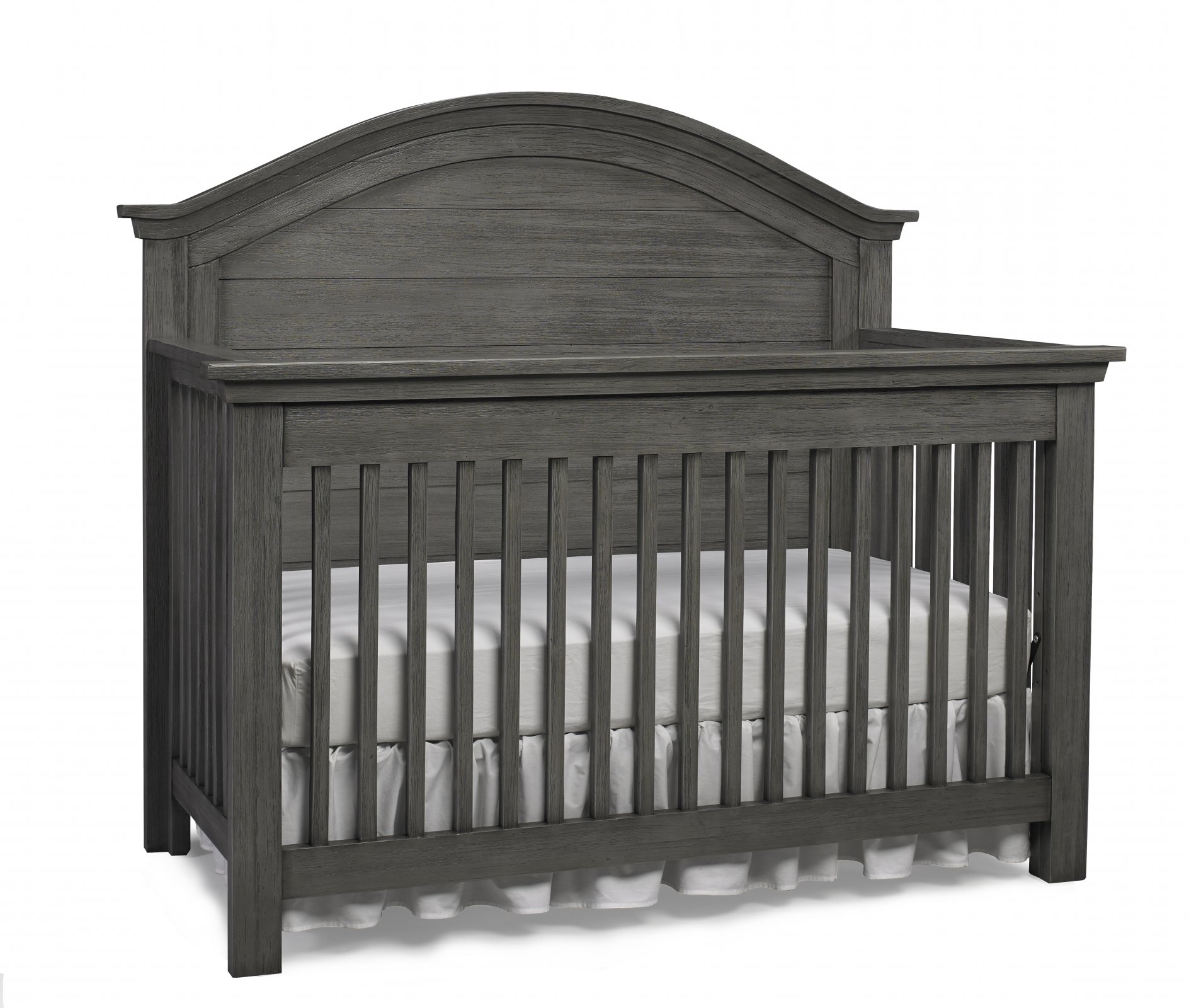 Lucca Curved Top Convertible Crib