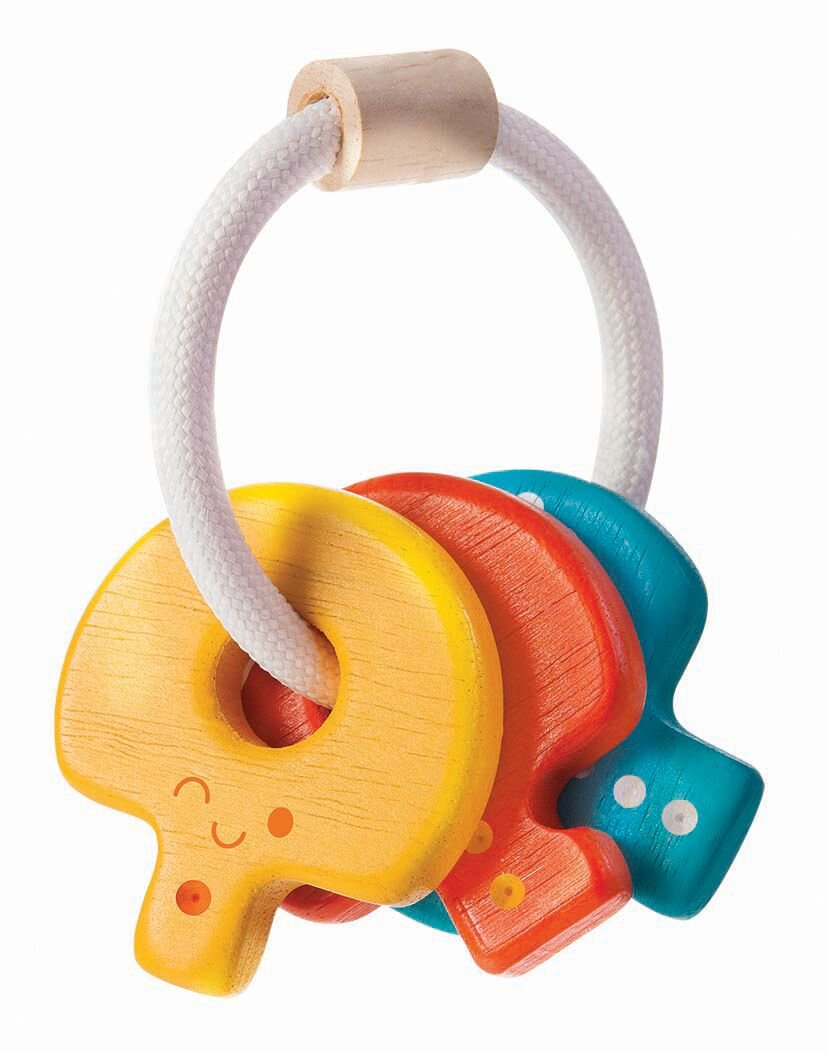 Plan Toys | Baby Key Rattle