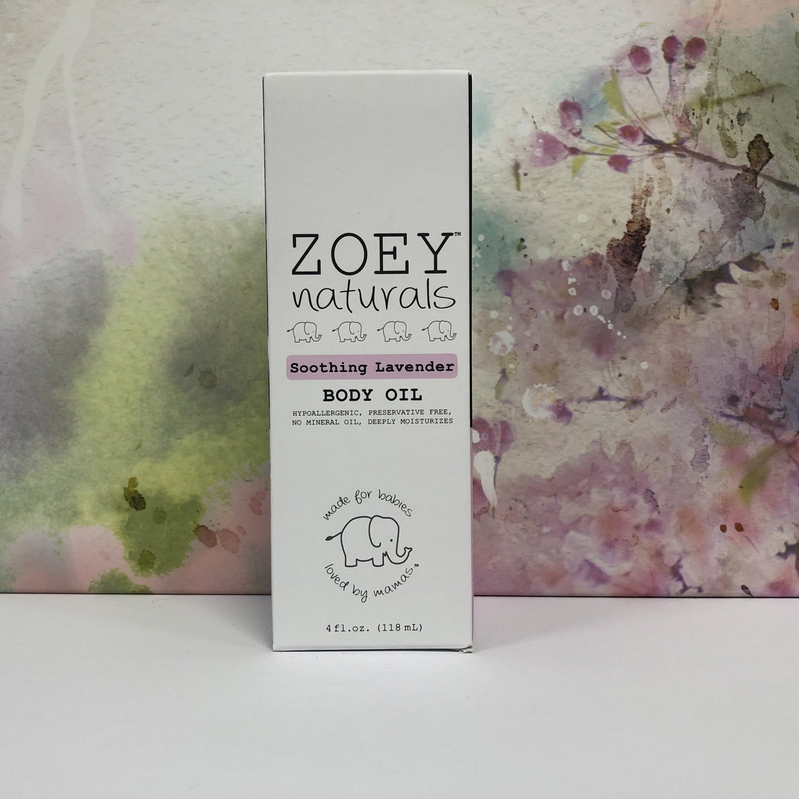 Zoey Naturals Soothing Lavender Body Oil