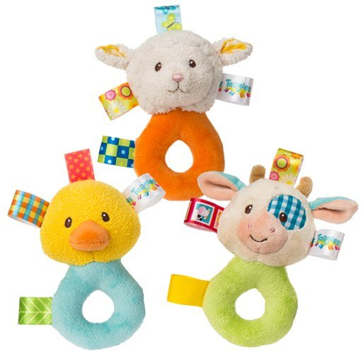 Mary Meyer | Barnyard Rattle Assorted