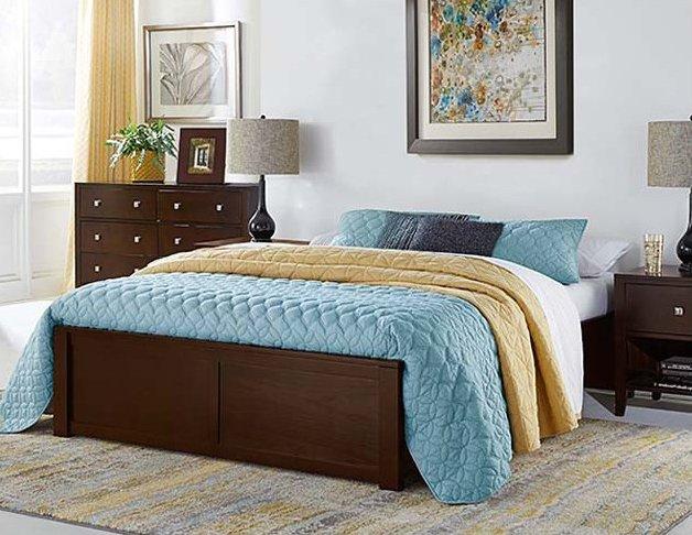 NE Kids | Pulse | Platform Full Bed (Floor Model)