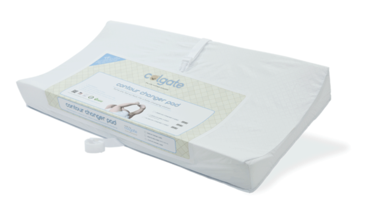 Colgate 2-Sided Changing Pad