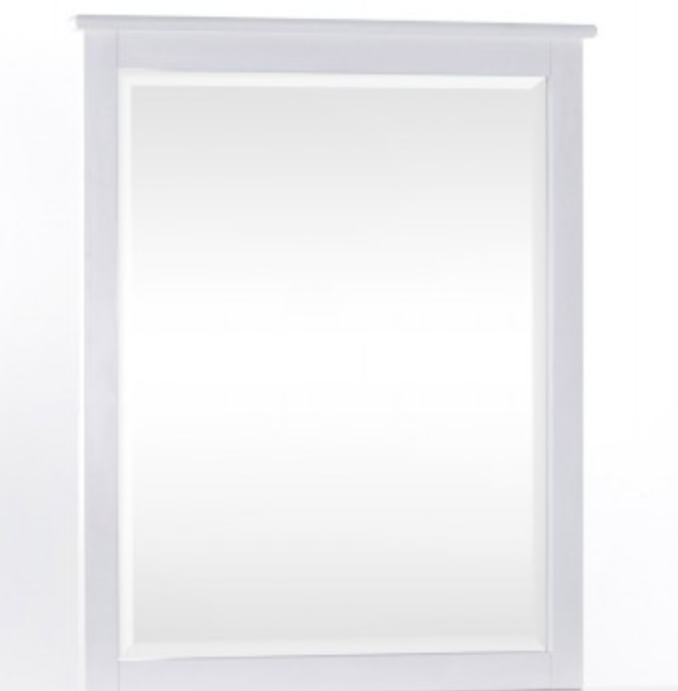 Schoolhouse White Mirror