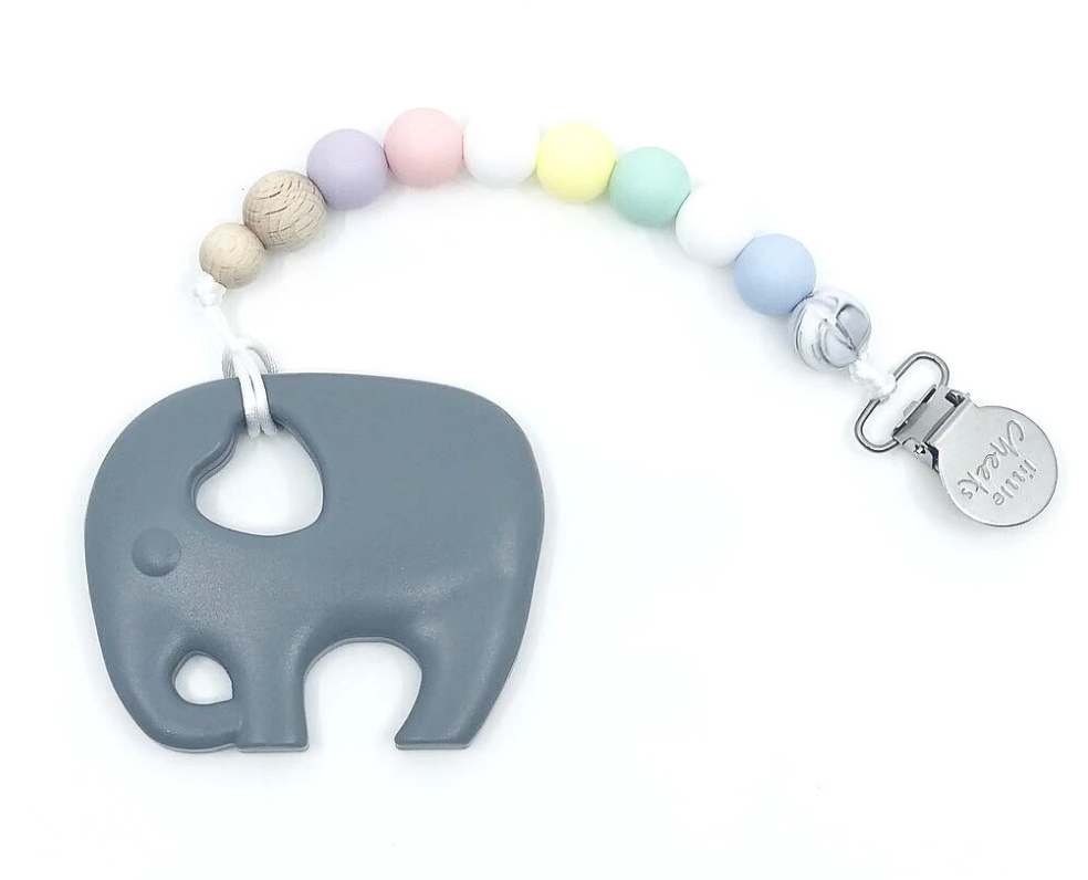 Little Cheeks | Elephant Clip