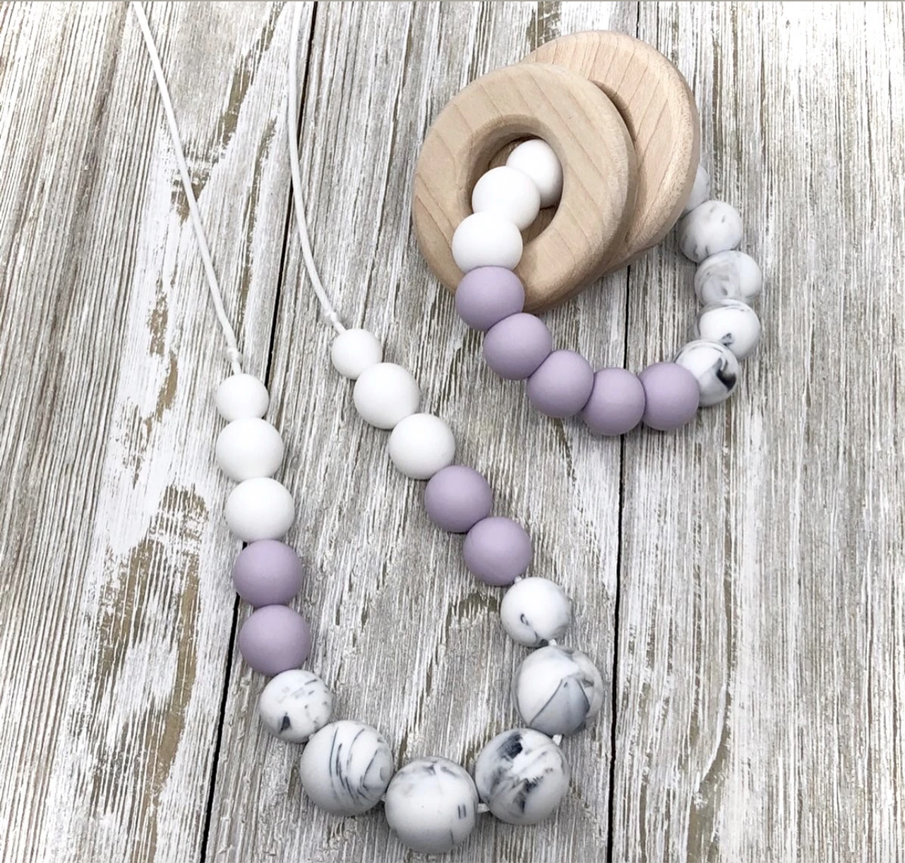 Little Cheeks | Marble Necklace