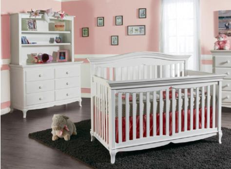 Pali | Mantova | 2pc Set (Crib & Double Dresser)