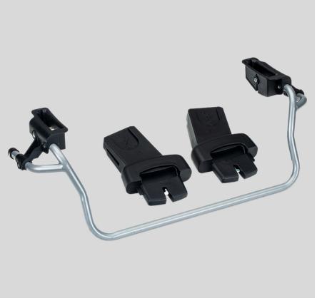 BOB | Flex/Flex Pro/Rambler | Single Carseat Adapter for Nuna, Cybex, & Maxi-Cosi Carseat