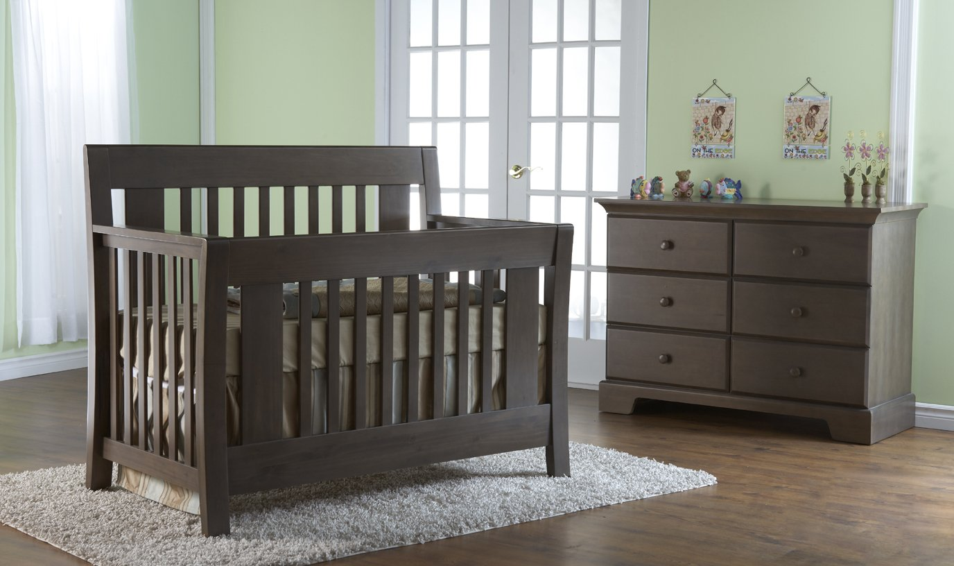 Pali | Emilia | 2-in-1 Convertible Crib