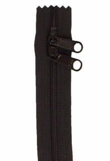 30 inch Zipper - Dbl Slide 105 Black