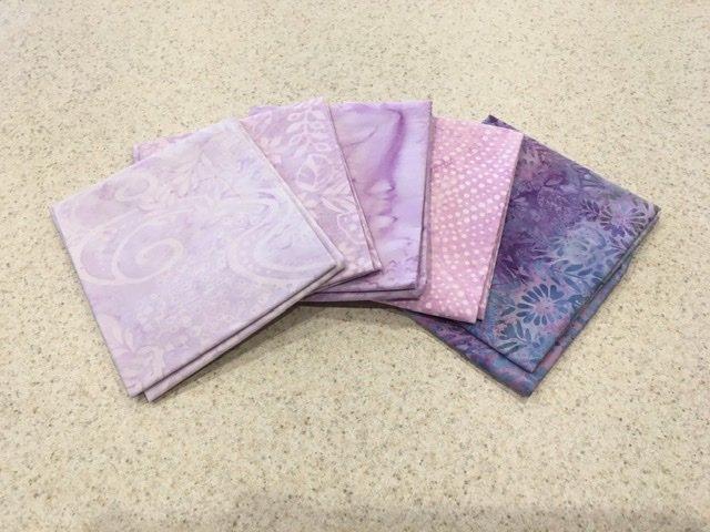 Batik Purple - Five Pack