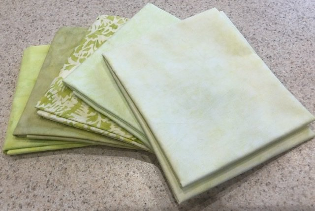 Batik Green - Five Pack #1
