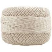 Finca Perle Cotton  Sz 12 - #4000 Ecru